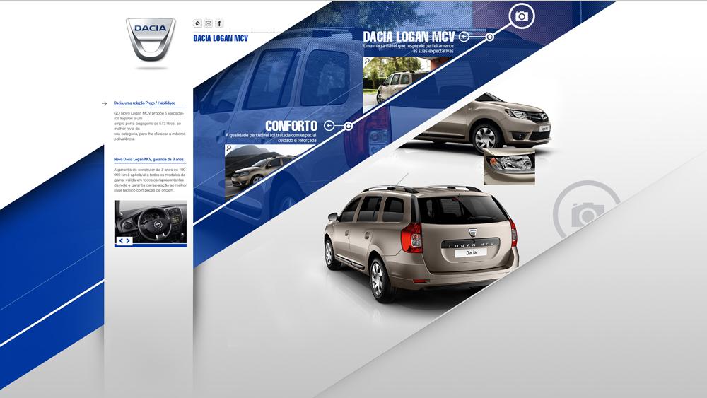 Dacia – website