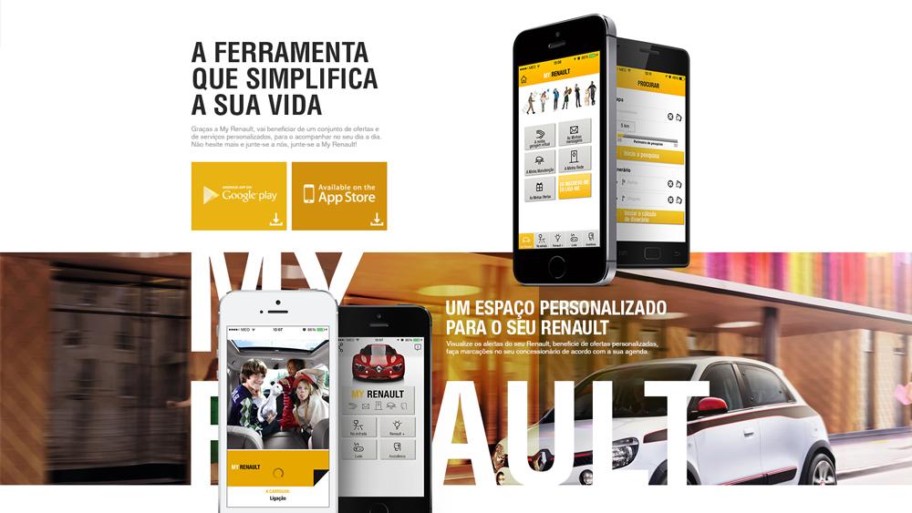 My Renault – website app