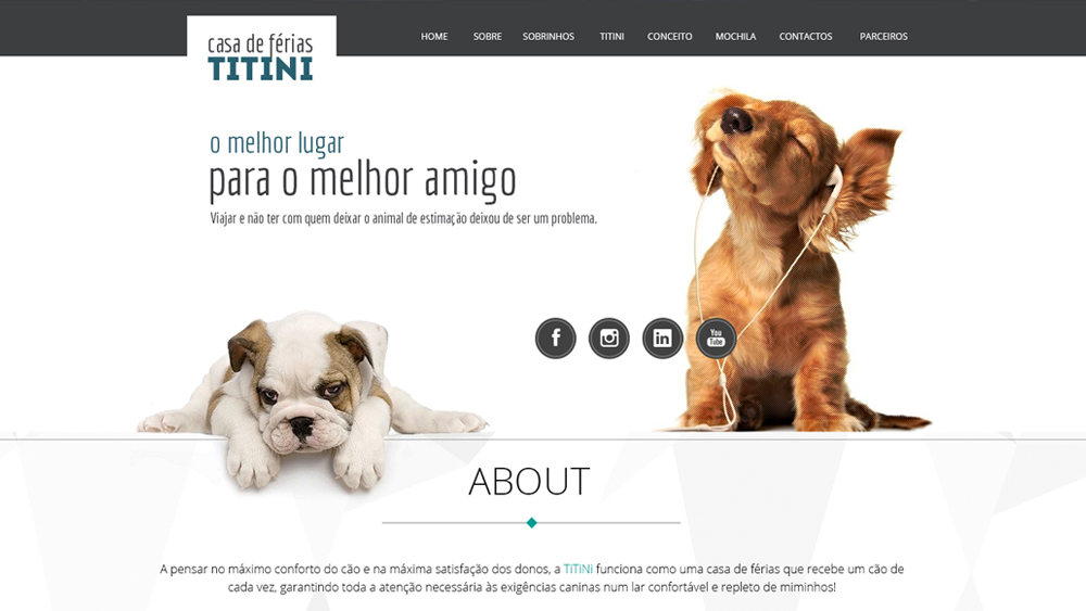 Titini – website