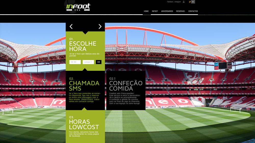 Infoot – website