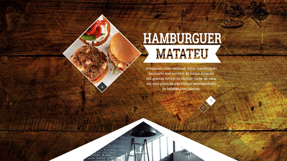 Petisqueira Matateu – website